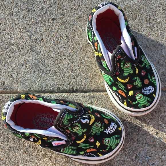Vans Other - Vans Toddler 4 Yo Gabba Gabba Slip on Shoe Sneaker